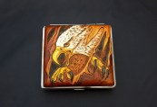 Cigarette case leather 002